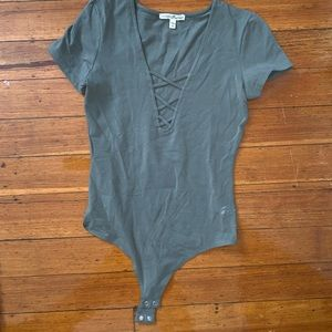 Olive green Express body suit